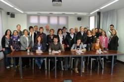 Presentació de la plataforma a l'Octubre de València