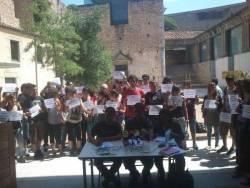 Roda de premsa dels representants dels estudiants