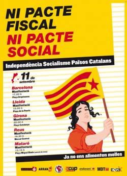 11-S: Cartell nacional de l'Esquerra Independentista