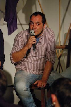 David Fernàndez, candidat de la CUP-AE