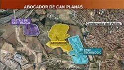 Incident de moviment de terrers al Parc Alba de Cerdanyola durant una visita del conseller Santi Vila