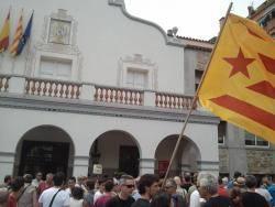 Imatge de l'investidura a Cerdanyola del Vallès
