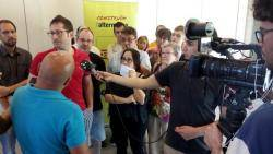La CUP facilitarà la investidura de Pere Gómez (ERC) com a alcalde a Olot, sense entrar al govern