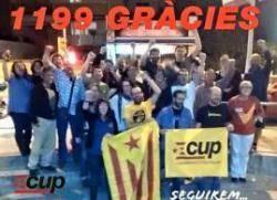 Títol de la imatgeLa CUP farà oposició a l?Ajuntament de Blanes i descarta entrar en cap equip de govern