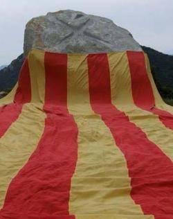 Pla de Can Pegot: un dels homenatges a Lluís M. Xirinacs