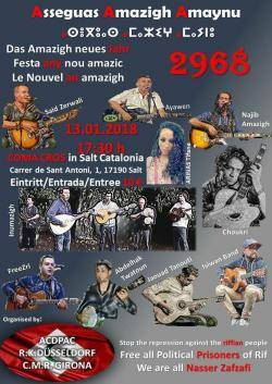 Festa d'any nou amazic a Salt