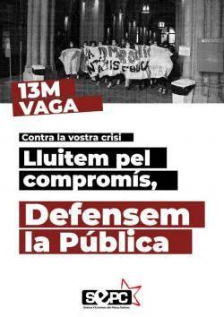 13 de Maig, Vaga estudiantil als Països Catalans