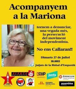Citen a declarar una veïna de Palafrugell de 70 anys investigada per incitar l'odi contra un guàrdia civil