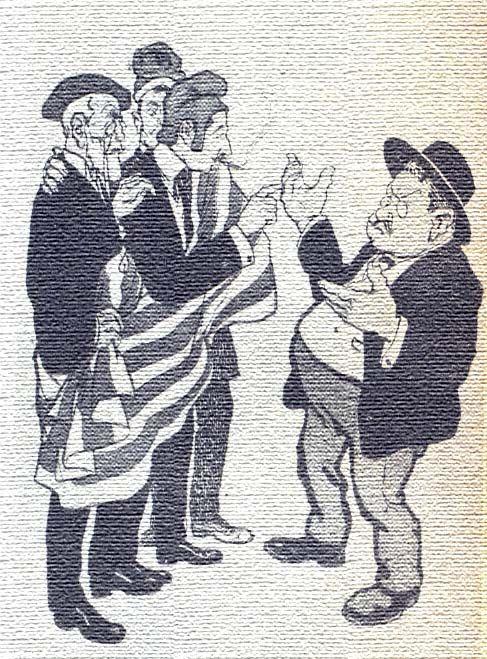 Dibuix al·legòric del republicanisme catalanista