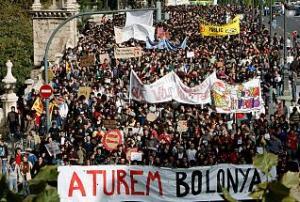 Manifestació a València