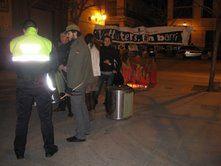L'Ajuntament de València impedeix la celebració de la foguera dels Velluters