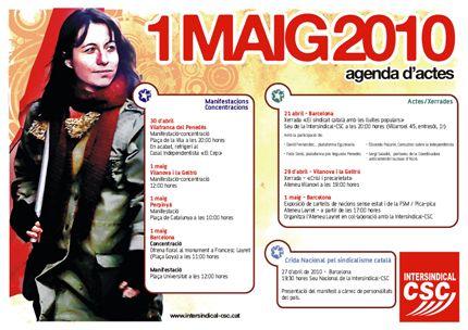 Agenda I-CSC 1er Maig 2010